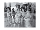 Los Angelas Store Manikins Photographic Print by Henri Silberman