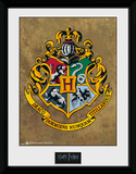 Harry Potter Hogwarts Wydruk kolekcjonerski