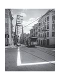 San Francisco Mason Street Cable Car Photographic Print by Henri Silberman