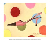 Retro Heels IV Prints by Trish Biddle