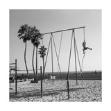 Venice Beach Rope Climber Photographic Print by Henri Silberman