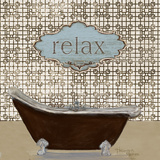 Relax Poster by  Hakimipour-ritter