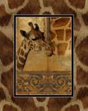 Elegant Safari III (Giraffe) Prints by Patricia Pinto