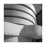 Guggenheim Museum Close-Up Photographic Print by Henri Silberman