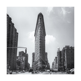 Flatiron Front View Afternoon Photographic Print by Henri Silberman