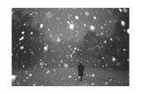 Brooklyn Evening Snowstorm Photographic Print by Henri Silberman