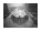 Top View Fifth Avenue, Snow Photographic Print by Henri Silberman