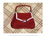 Petit Sac Rouge I Prints by Trish Biddle