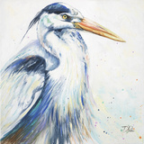 New Blue Heron I Prints by Patricia Pinto