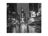 Times Square Rainy Evening Photographic Print by Henri Silberman