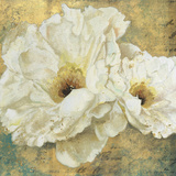 Zuzu Peony Gold II Posters by Patricia Pinto