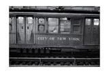 Subway Car Close-Up Nyc Photographic Print by Henri Silberman