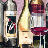 Vintage Wines II Prints by Heather A. French-Roussia