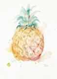 Water Pineapple Kunstdruck von Patricia Pinto