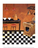 Retro Kitchen III Posters by Krista Sewell