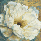 Zuzu Peony Gold I Art by Patricia Pinto