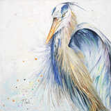 New Blue Heron II Posters by Patricia Pinto