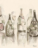 Sepia Champagne Reflections I Posters by Heather A. French-Roussia