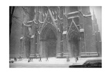 Saint Patrick'S Blizzard Photographic Print by Henri Silberman
