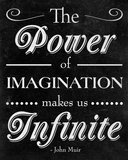 Power of Imagination Prints by Sd Graphics Studio