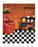 Retro Kitchen IV Posters by Krista Sewell