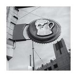 San Francisco Beer Stein Sign Fotografisk tryk af Henri Silberman