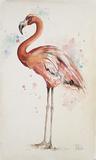 Flamingo 1 Kunstdruck von Patricia Pinto