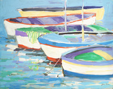 Row Your Boats Prints by Jane Slivka