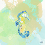 Watercolor Sea Creatures III Poster by Julie DeRice