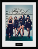 Pretty Little Liars Line Up Collector Print