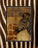 Elegant Safari I (Zebra) Plakater af Patricia Pinto