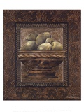 Rustic Bowl of Pears Posters by Linda Thompson