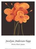 Petite Jaune Art by Jocelyne Anderson-Tapp