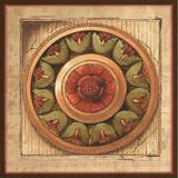 Rosette II Poster by Elizabeth Medley