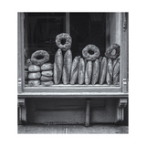 Bakery Window, Manhattan Photographic Print by Henri Silberman