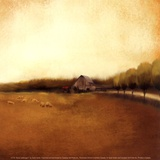 Rural Landscape I Print by Tandi Venter
