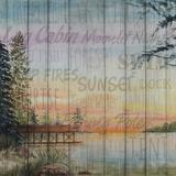 Into the Woods Words II Plakater af Linda Baliko