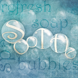 Soothe Bubbles Prints by Sd Graphics Studio
