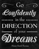 Direction of your Dreams Posters by Sd Graphics Studio