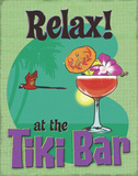 Tiki Bar Relax Posters by  A Fresh Bunch