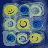 Indigo Modern Joy I Posters by Lanie Loreth