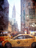 Rainy Madison Avenue Prints by  Acosta