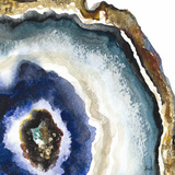 Up Close Agate Watercolor II Posters by Patricia Pinto