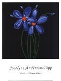 Petite Bleu Posters by Jocelyne Anderson-Tapp