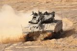 A Merkava Iii Main Battle Tank in the Negev Desert, Israel Photographic Print by  Stocktrek Images
