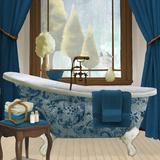 Blue View II Prints by Elizabeth Medley