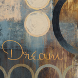 Dream (blue) (Inspirational) Poster by John Spaeth
