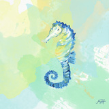 Watercolor Sea Creatures IV Print by Julie DeRice