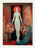 Heliodora Collectable Print by Leonor Fini
