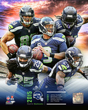 Seattle Seahawks 2015 Team Composite Photo